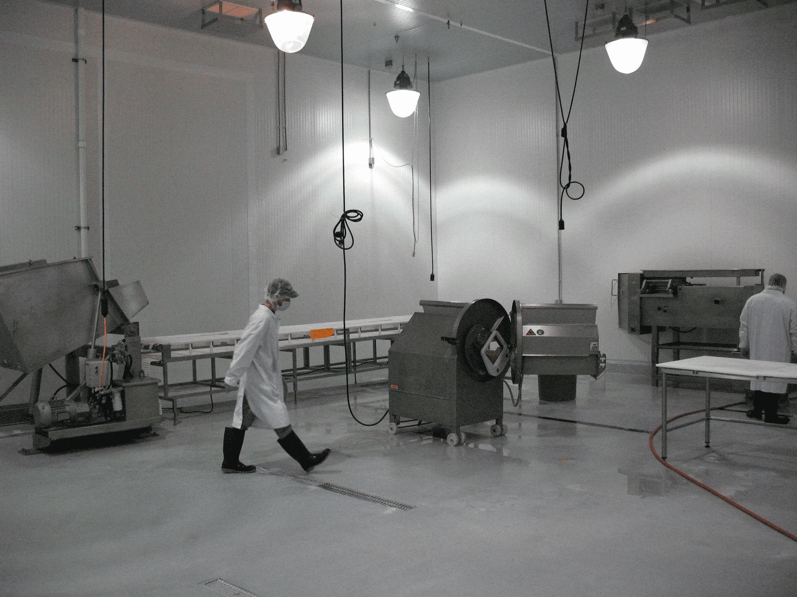 Fabrieksvloer
