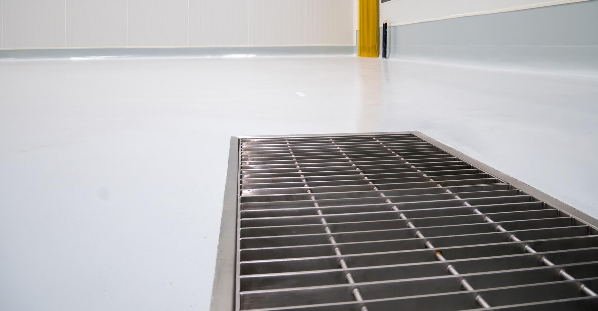 Acrylaatvloer voor bedrijf
