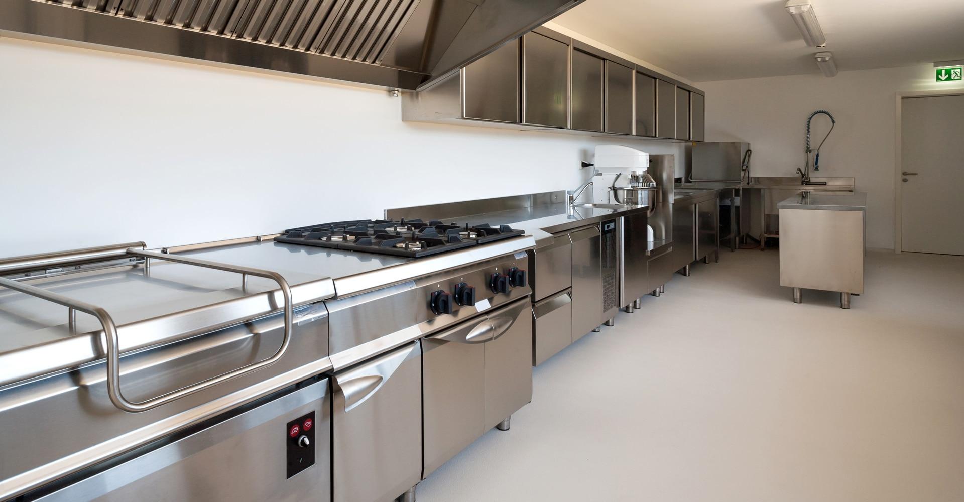 Bakkerijvloer keuken