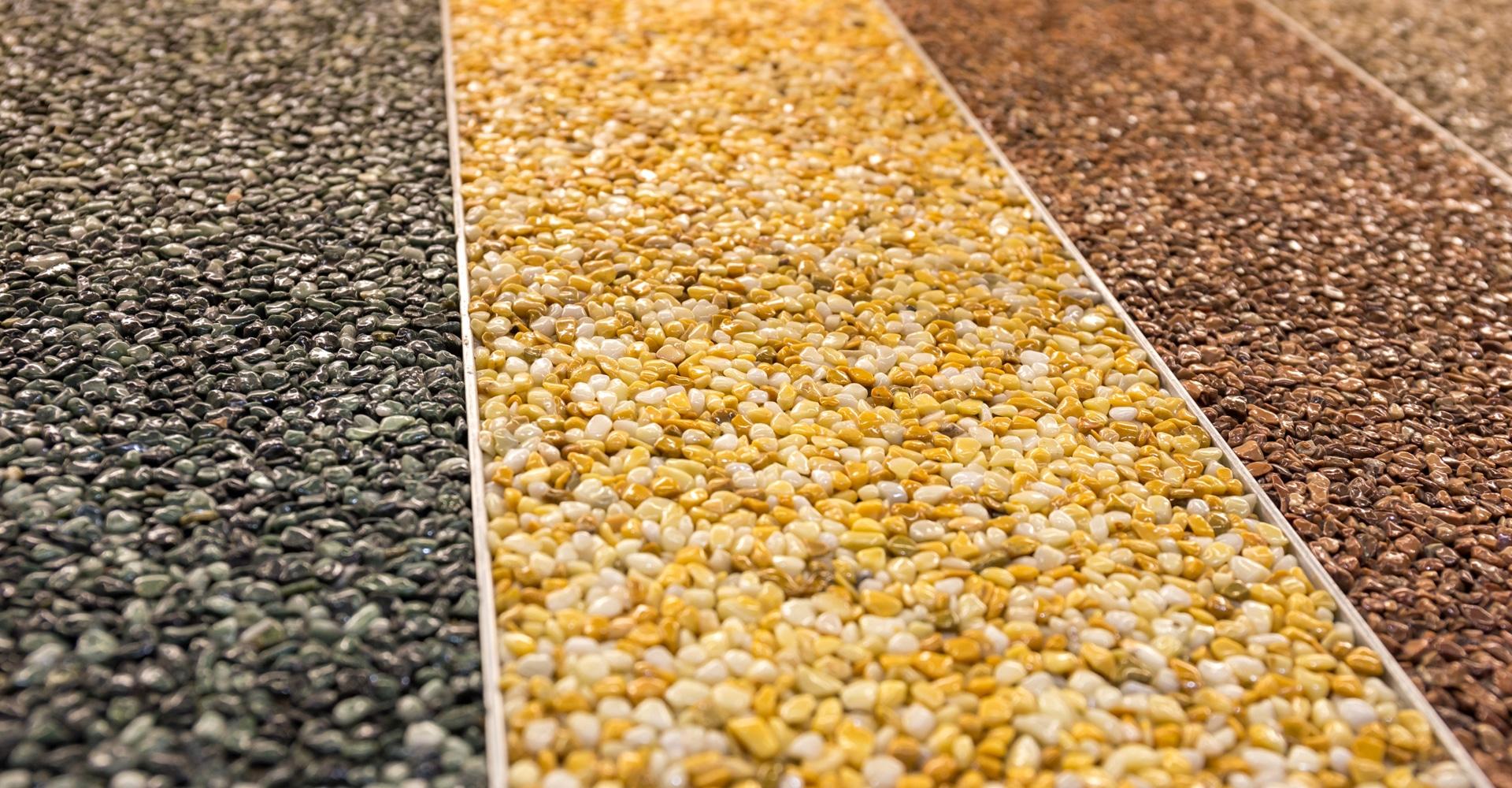 Grindvloer kleursamples