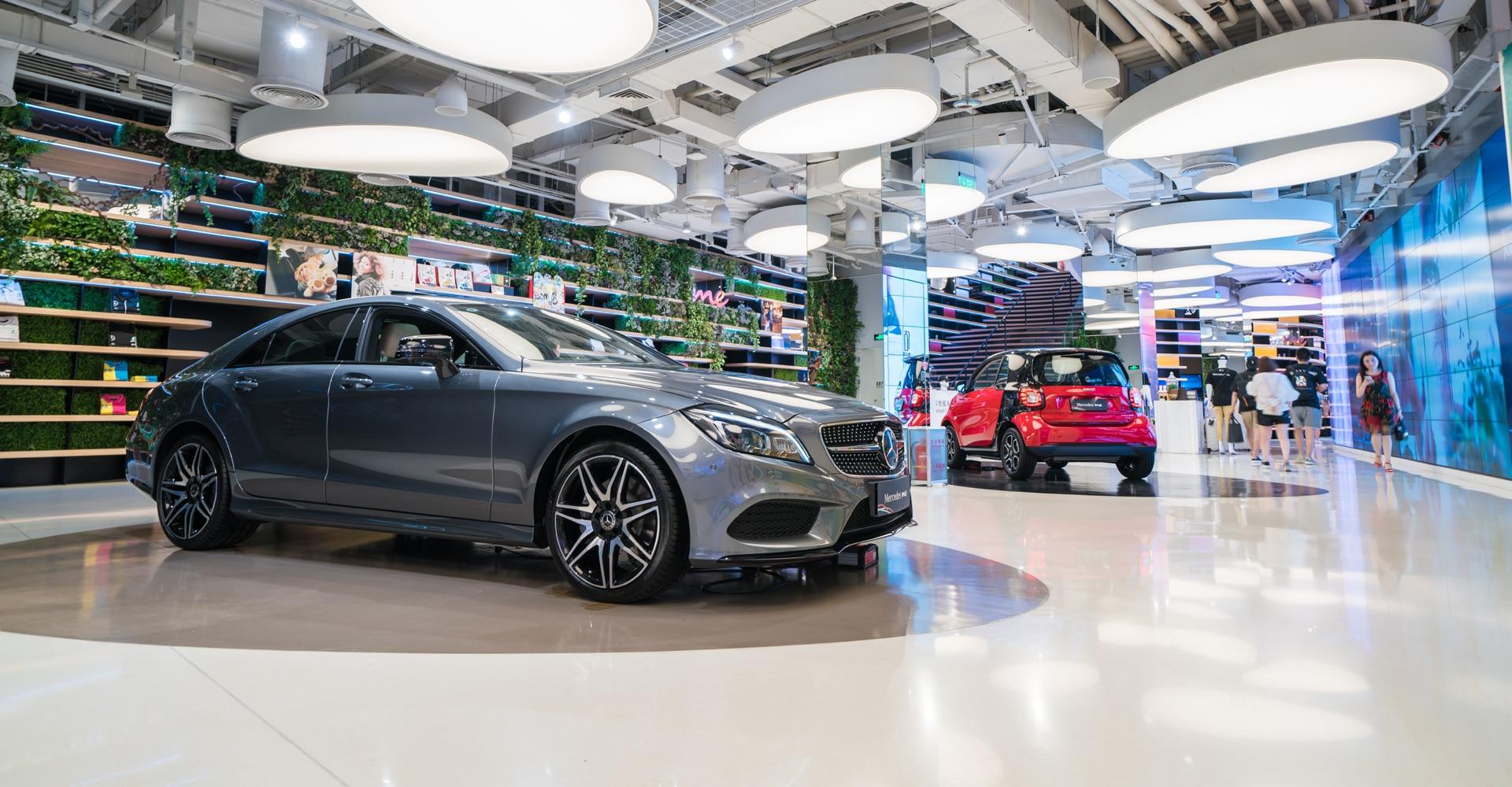 Showroomvloer Mercedes