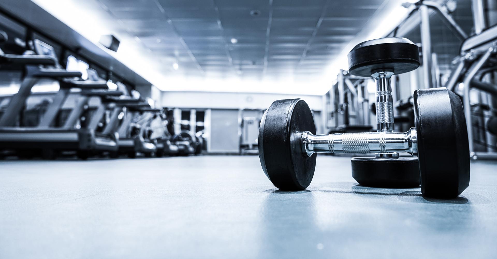 Sportvloer voor gewichten