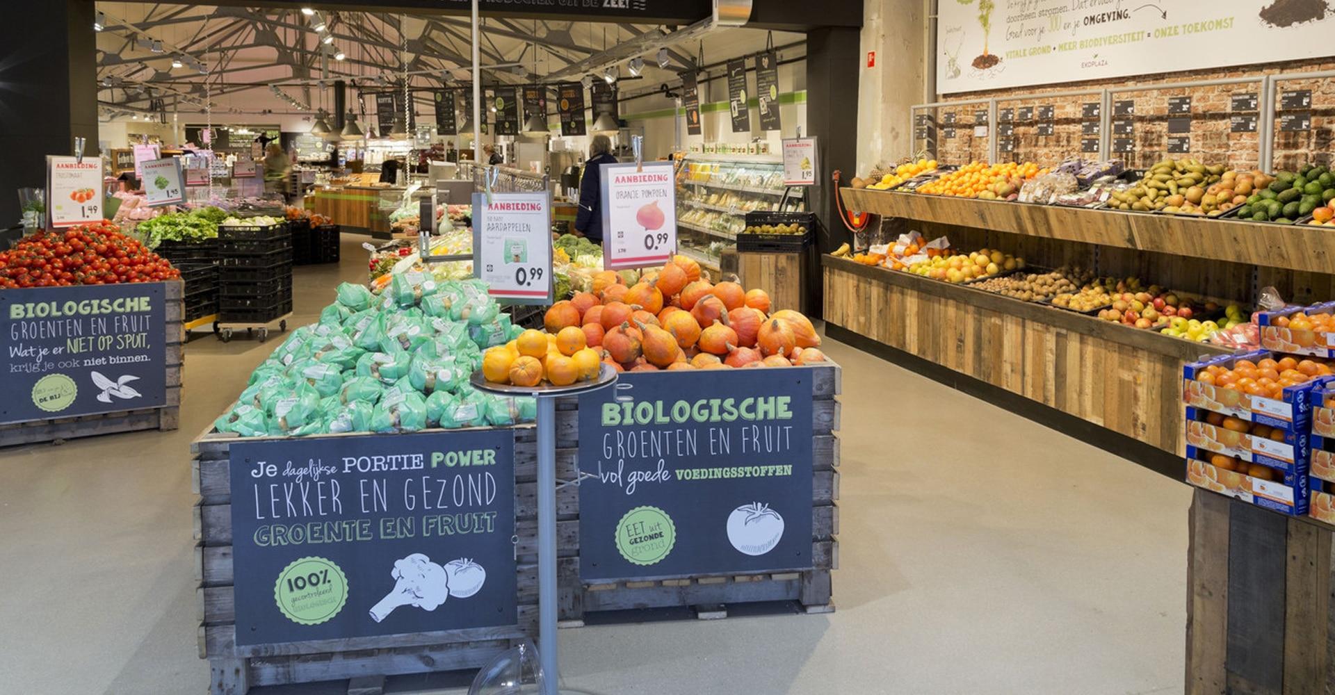 Supermarktvloer entree