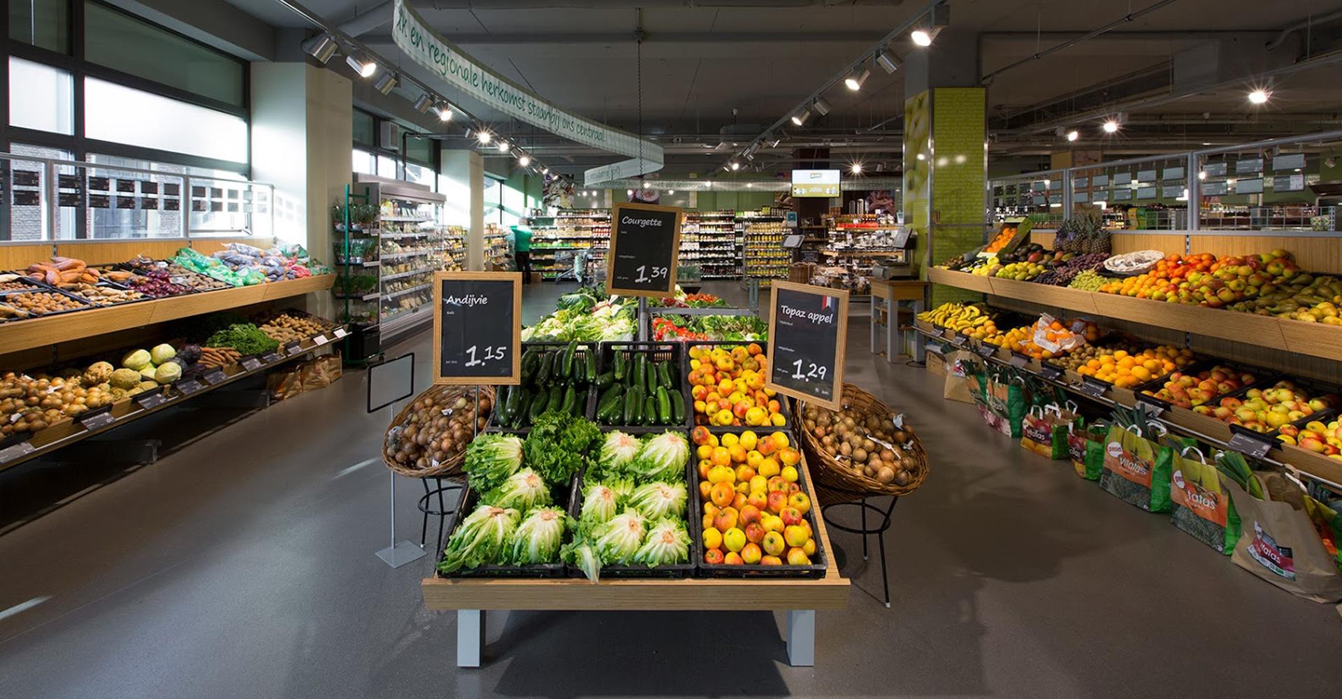 Supermarktvloer interieur