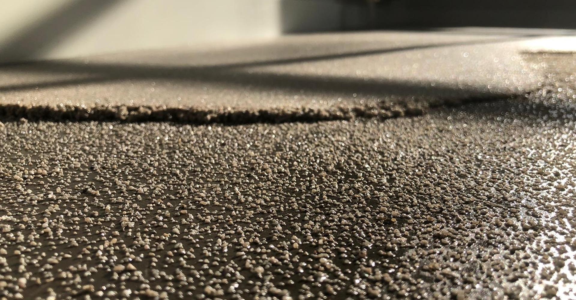 Troffelvloer aanbrengen