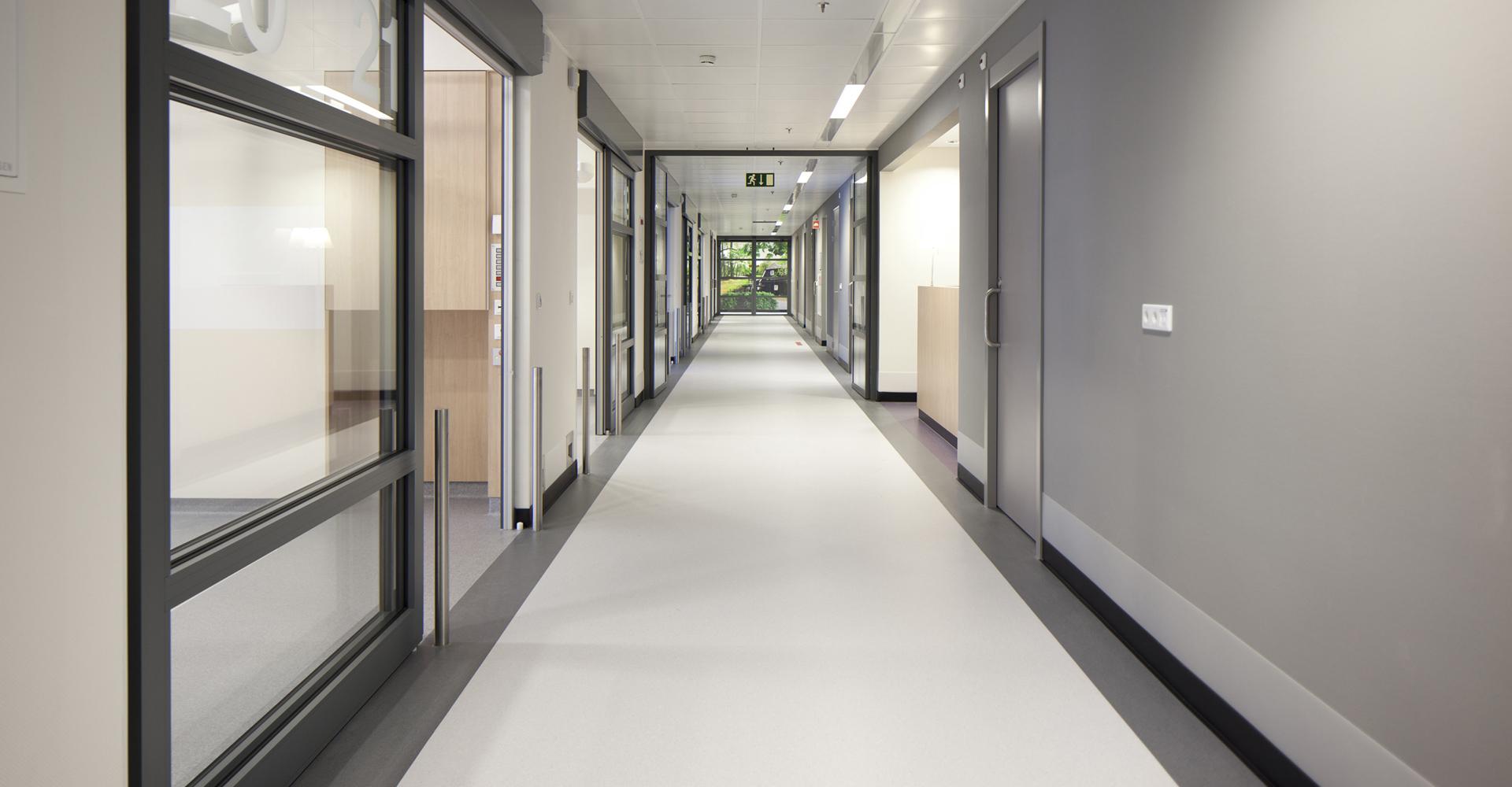 Ziekenhuisvloer hal