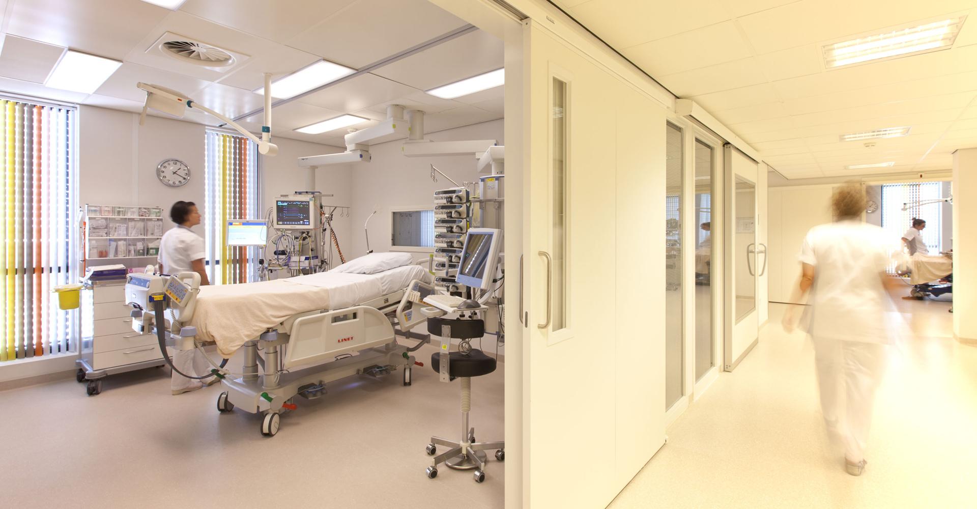 Ziekenhuisvloer kamer