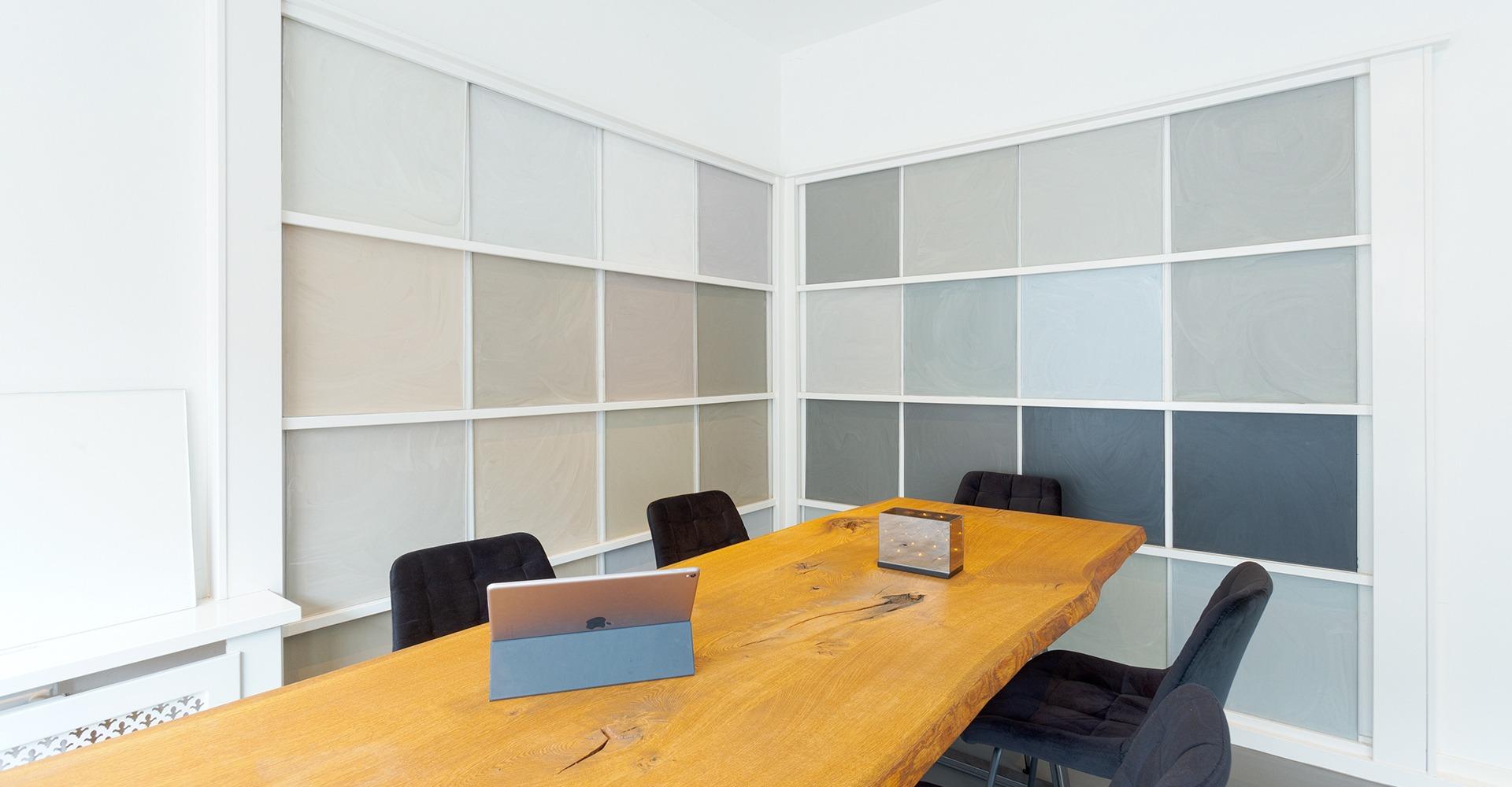 G-vloeren showroom pu betonlook kleuren