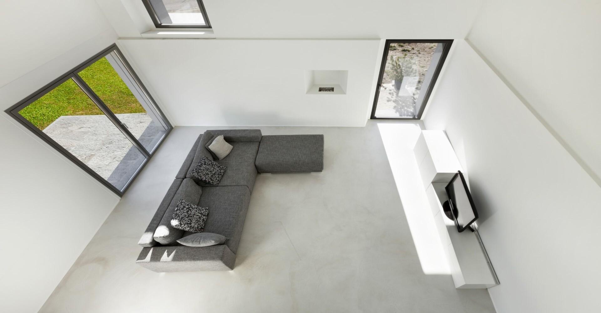 Woonbeton woonkamer