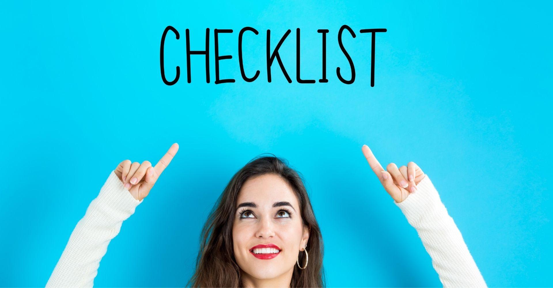 Gietvloer checklist