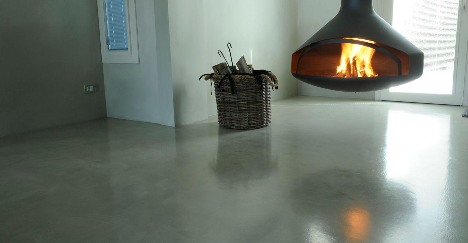 Goedkope betonvloer