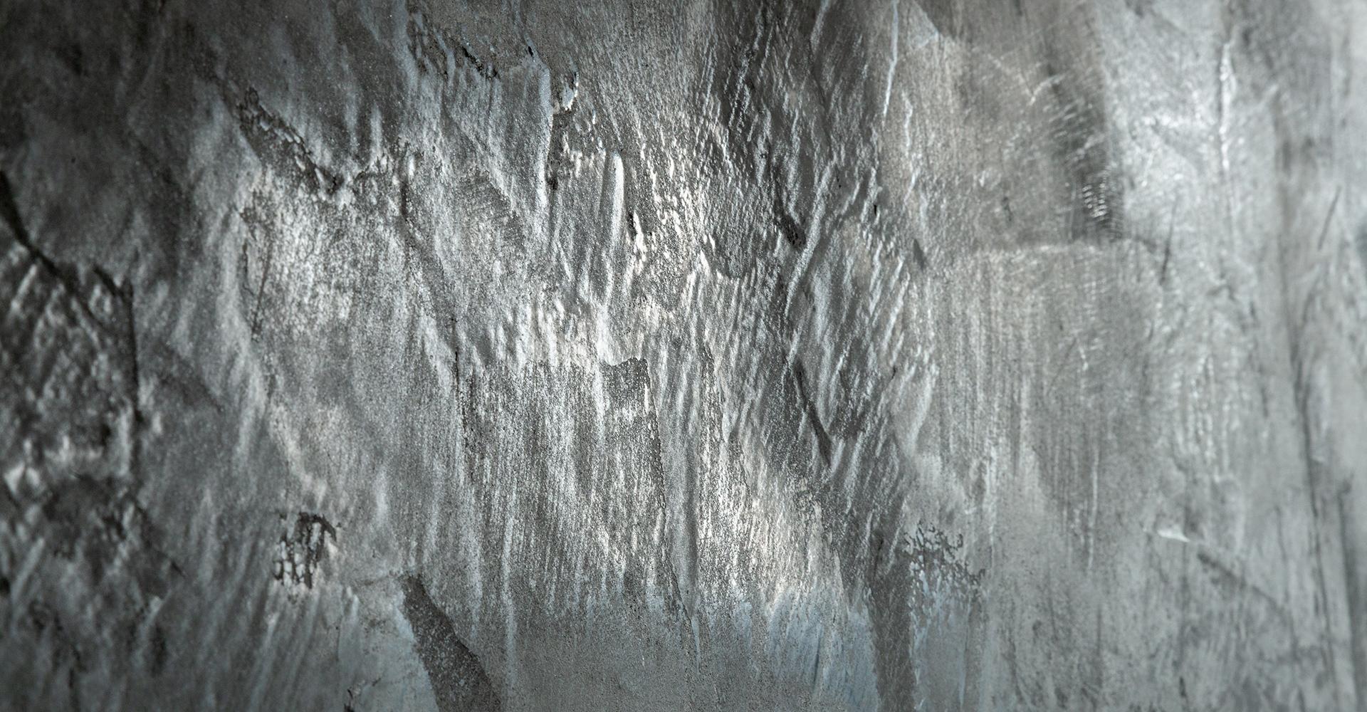 Betonlook op de muur